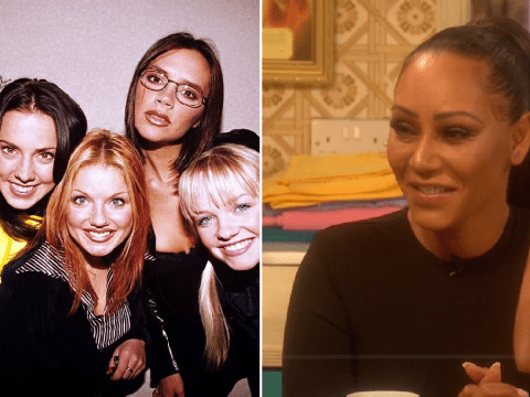 Spice Girls star Mel B quizzed about Victoria Beckham by savage Mrs Brown: 'Does she ever smile?'