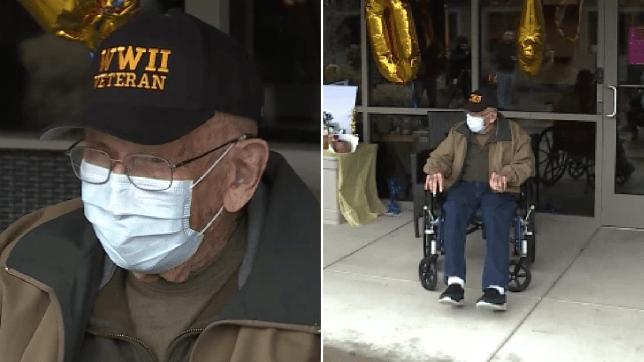 Photos of coronavirus survivor Bill Lapschies