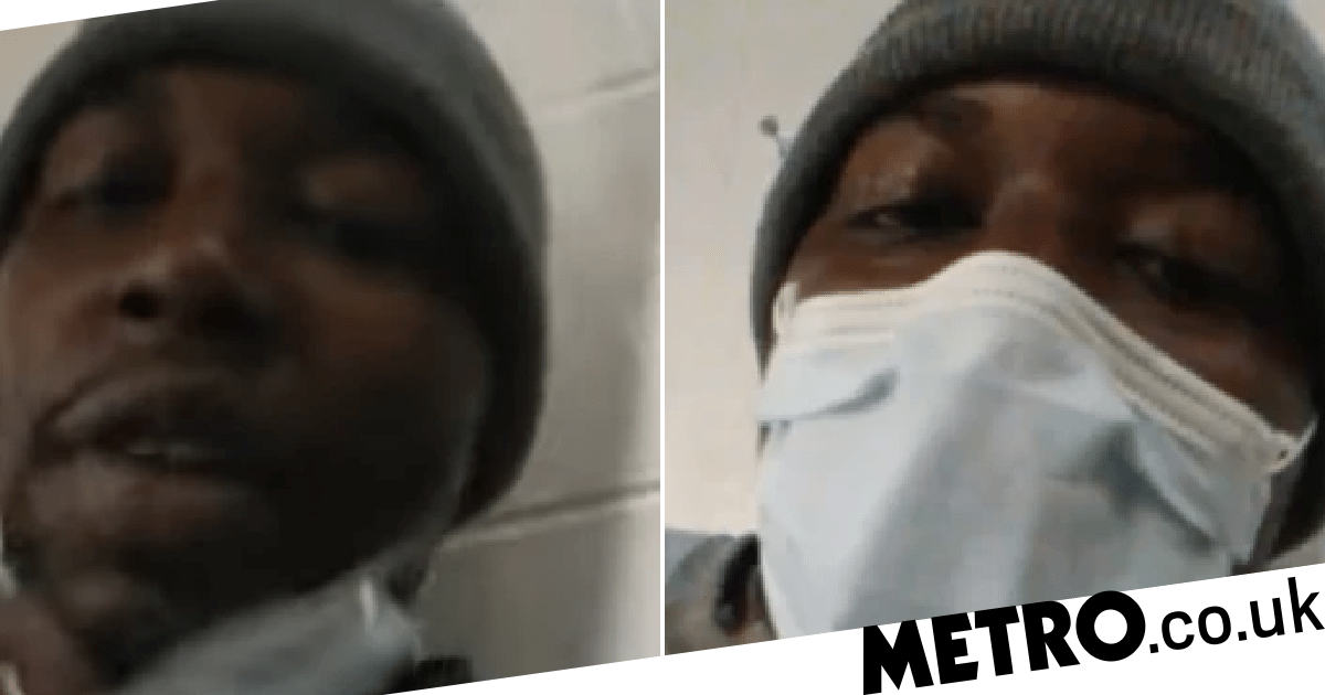 Inmate in prison ravaged by coronavirus uses smuggled phone to plead for help