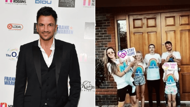 Peter Andre family