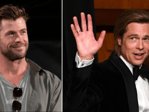 Chris Hemsworth lucky he wasn't taken down by security as he details first meeting Brad Pitt