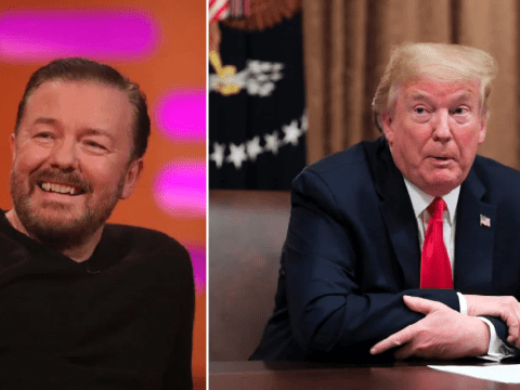 Ricky Gervais totally predicted Donald Trump's disinfectant comment in unearthed tweet