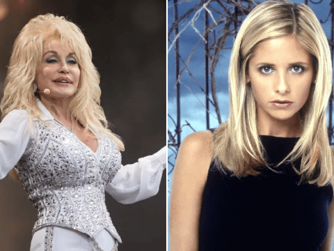 Dolly Parton was a secret producer on Buffy The Vampire Slayer and we're obsessed with this iconic flex