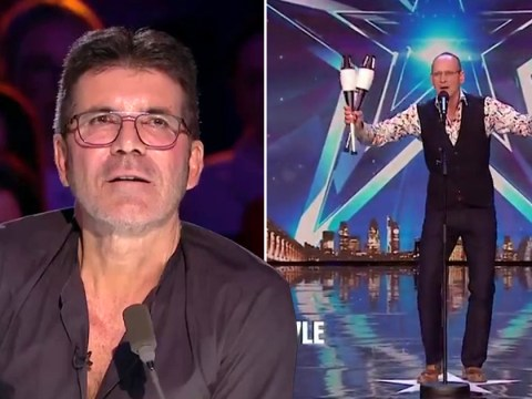 Britain's Got Talent comedian Steve Royle would never pick Simon Cowell to be part of his act: 'He scares me'