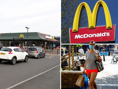 McDonald's 'to reopen in May for drive-thru and delivery orders'
