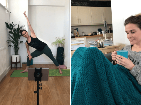 My Quarantine Routine: Rachel, a 32-year-old yoga instructor who is now teaching online