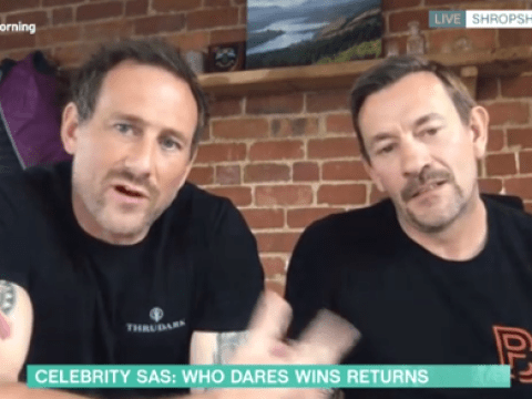 This Morning viewers baffled after SAS: Who Dares Wins stars Jason Fox and Ollie Ollerton self-isolate together