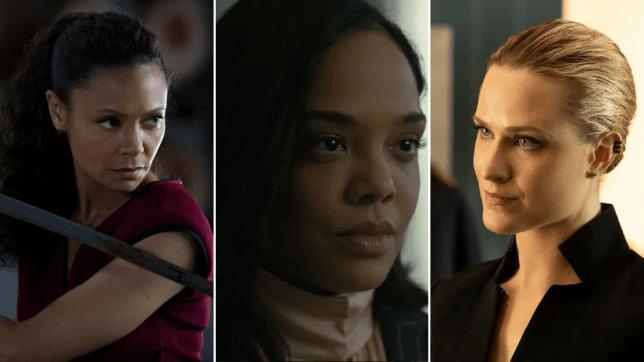 Westworld season 3 Decoherence Thandie Newton Tessa Thompson Evan Rachel Wood