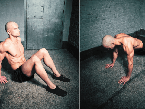 Former prisoner shares home workout tips after he transformed his body in jail cell