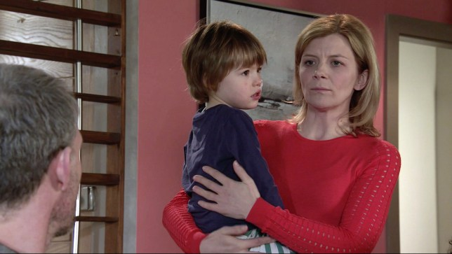 Coronation Street Leanne and Oliver