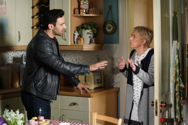 Kush and Jean in EastEnders