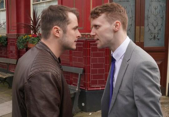 Ben and Jay in EastEnders