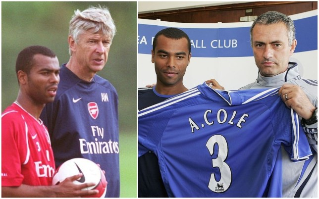 Ashley Cole says Arsenal's failure to replace key players forced his move to Chelsea