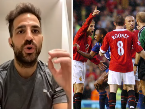 Arsenal legend Cesc Fabregas slams Man Utd duo Gary Neville and Wayne Rooney over infamous Pizzagate clash