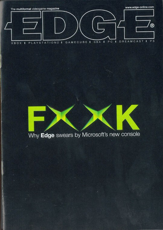 Edge Magazine FxxK cover