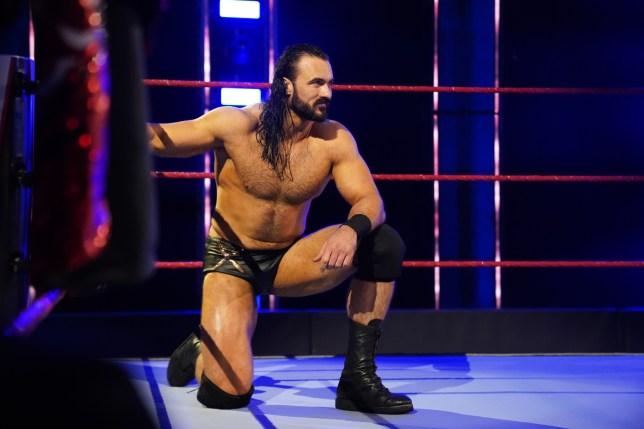 WWE champion Drew McIntyre on Raw