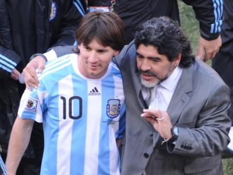 Diego Maradona in a different league to Lionel Messi, claims Fabio Cannavaro