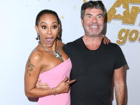 Simon Cowell and Lauren Silverman rubbish 'utterly ridiculous' Mel B 'affair' claims