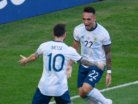 Barcelona boss responds to speculation Lionel Messi wants him to sign Lautaro Martinez