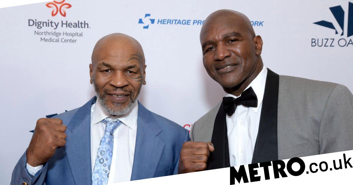 Evander Holyfield warns Mike Tyson and names condition for fight - Metro.co.uk