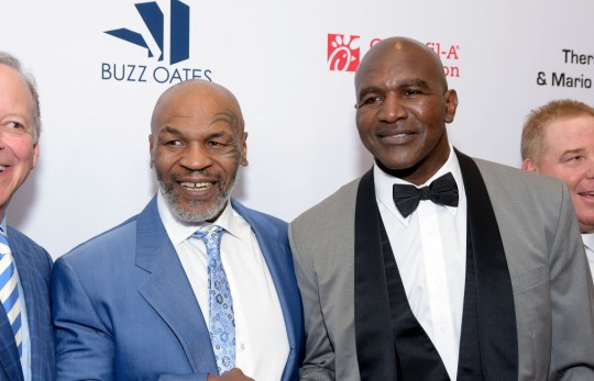 Evander Holyfield has also hinted he would be keen to face Mike Tyson in an exhibition fight