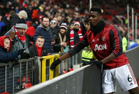 Paul Pogba has made just eight appearances for Manchester United this season