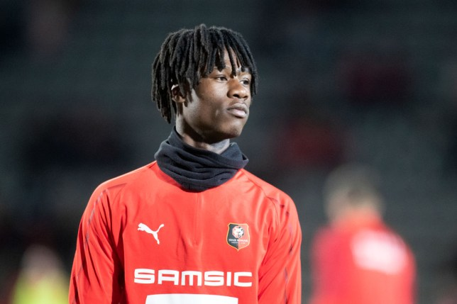 Eduardo Camavinga is wanted by Manchester United and Real Madrid