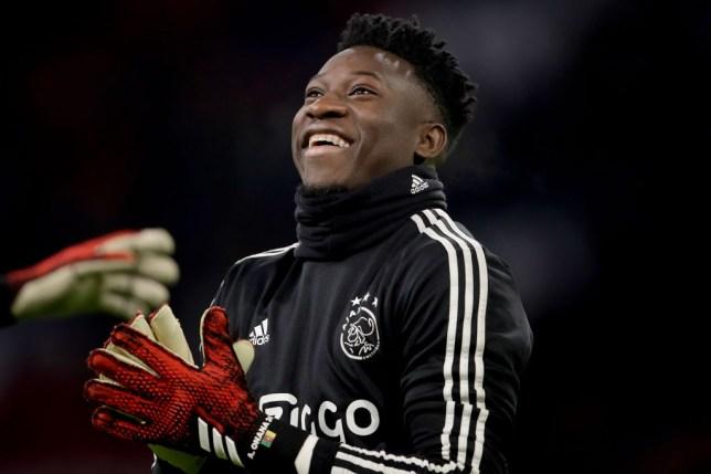Ajax goalkeeper Andre Onana can leave the club