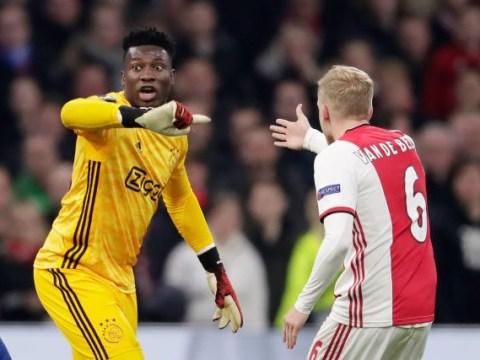 Edwin van der Saar warns Chelsea and Man Utd over Andre Onana & Donny van de Beek transfer pursuits