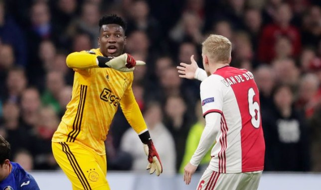 Andre Onana and Donny van de Beek have been linked with transfers to the likes of Chelsea and Man Utd