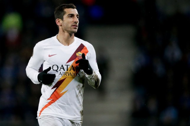 Henrikh Mkhitaryan at AS Roma