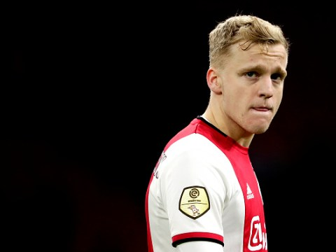 Real Madrid clear way for Manchester United to complete Donny van de Beek move