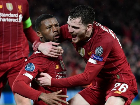 Georginio Wijnaldum and Andy Robertson send messages to Liverpool fans ahead of Premier League return
