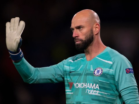 Frank Lampard reacts to Willy Caballero signing new Chelsea contract