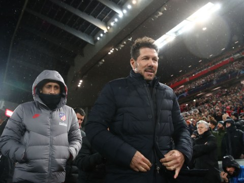 Diego Simeone takes fresh dig at Liverpool critics after Atletico's Champions League win