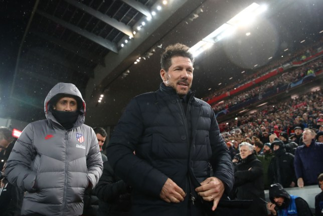 Diego Simeone masterminded Atletico Madrid's Champions League win over Liverpool