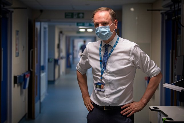 Sir Simon Stevens, Chief Executive of the NHS.