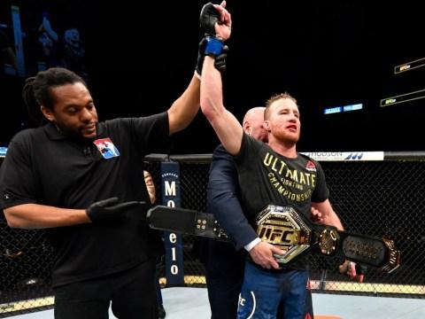 Justin Gaethje sends message to Khabib Nurmagomedov after dominating Tony Ferguson at UFC 249