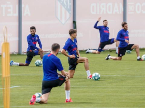Thomas Partey admits Atletico Madrid players 'suffered' during first training session