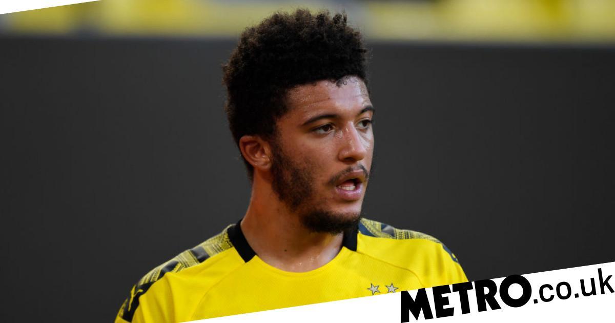 Thomas Delaney reveals how Jadon Sancho has reacted to Man Utd transfer links - Metro.co.uk