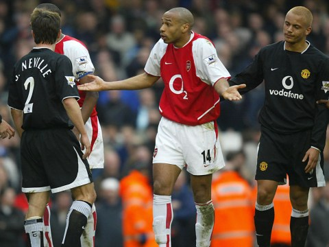 Gary Neville reveals why Robert Pires and Thierry Henry wound up Sir Alex Ferguson