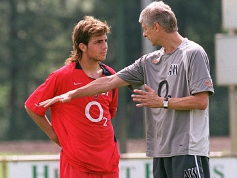 Thierry Henry reveals what he said to Arsene Wenger during Cesc Fabregas' first training session at Arsenal