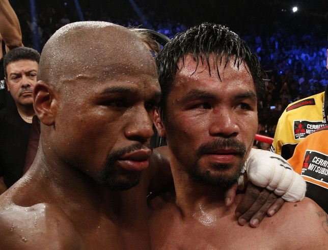 Floyd Mayweather Jr. believes Manny Pacquiao surpass his record of beating the most champions