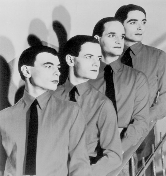 The Kraftwerk Rock Group Members