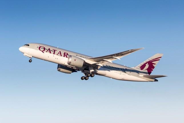 Qatar Airways Boeing 787-8 Dreamliner