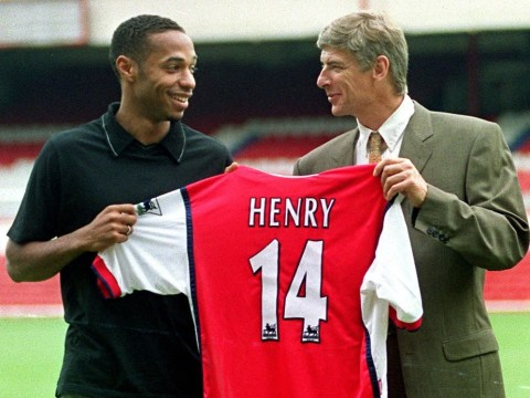 Thierry Henry reveals why he picked the number 14 when he joined Arsenal