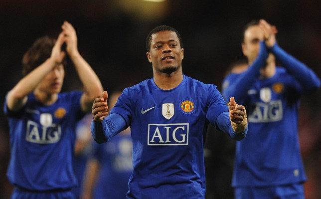 Patrice Evra says he enjoyed beating Arsenal more than any other team with Manchester United