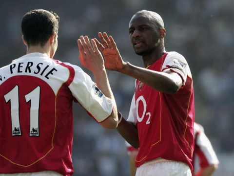 Robin van Persie reveals the moment he realised Arsenal hero Patrick Vieira was a 'true leader'