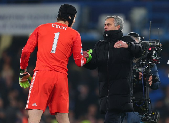 Jose Mourinho sanctioned Petr Cech's departure from Chelsea in the summer of 2015