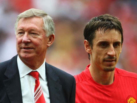 What Gary Neville told Sir Alex Ferguson in Manchester United dressing room after facing Cristiano Ronaldo